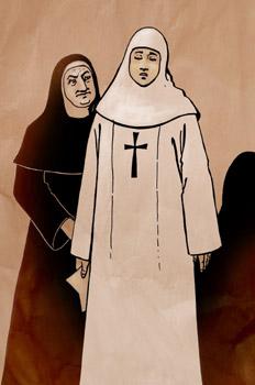 Doña Inés y Brígida