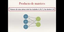 Matrices 3 - Producto de matrices (primera parte)