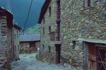Callejuela de Llorts, Principado de Andorra