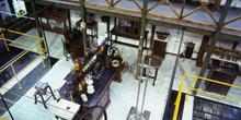 Vista aérea del laboratorio de materiales, Museo de la Minería y