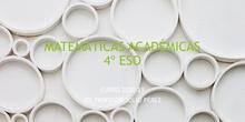 Matemáticas Académicas 4º ESO. IES Profesor Julio Pérez