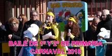 CARNAVAL 2018 BAILE DE 1º Y 2º DE PRIMARIA