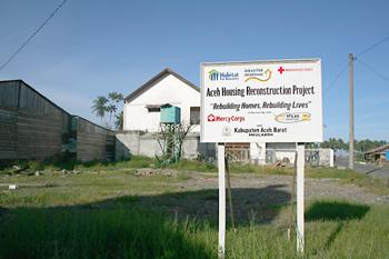 Proyecto de reconstrucción, Melaboh, Sumatra, Indonesia