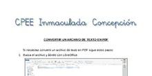 Tutorial - Convertir un archivo de texto en PDF