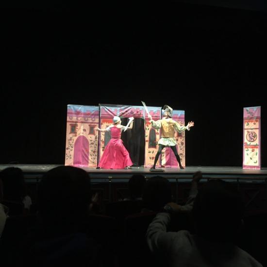 2º de Primaria en el teatro Federico García Lorca
