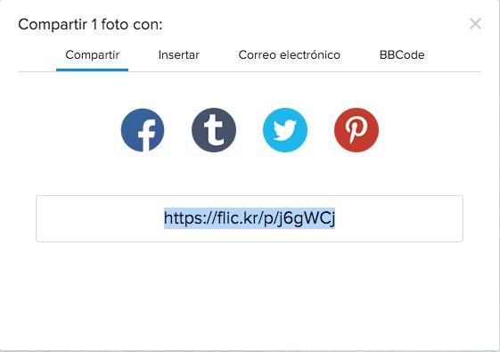 Compartir Flickr