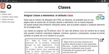 HTML class