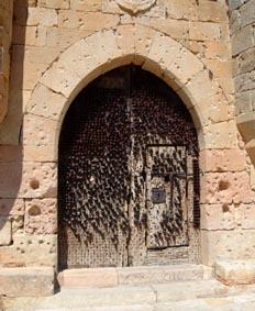 Herraje de puerta del Castillo de Pedraza, Segovia, Castilla y L