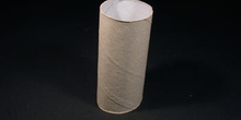 Tubo de papel higiénico