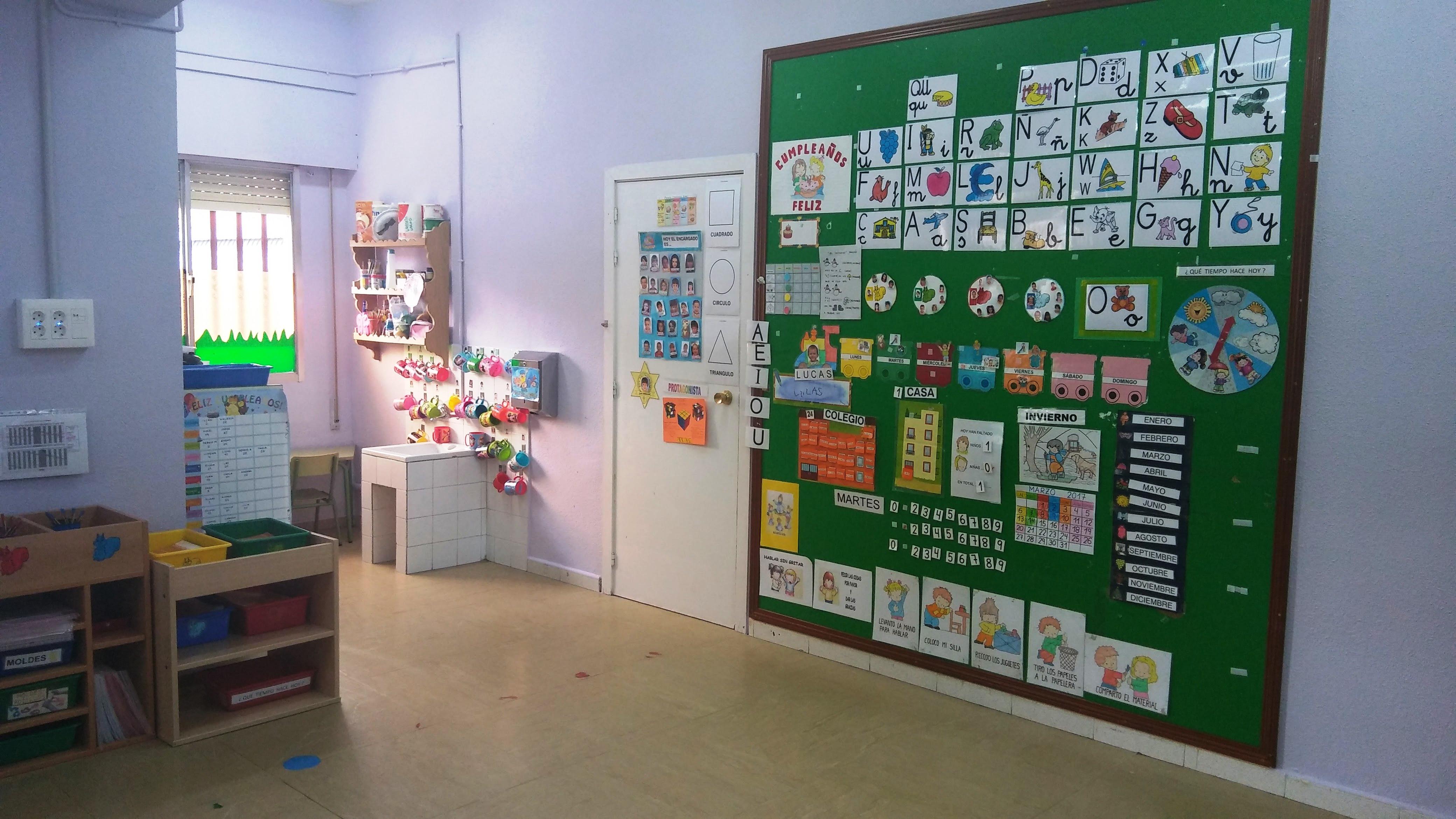 Aulas de Infantil 2