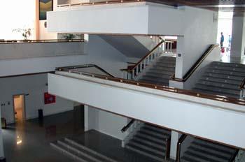 Hall del Auditorio Nacional de Música de Madrid
