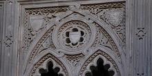 Detalle ventana arco del Dean, Zaragoza