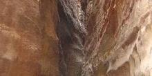 Formación de rocas en el desierto, Jordania
