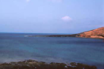 Paisaje marítimo Lanzarote