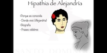MUJERES PARA LA HISTORIA - HIPATIA DE ALEJANDRÍA
