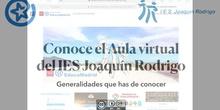 Conoce el Aula virtual del IES Joaquín Rodrigo