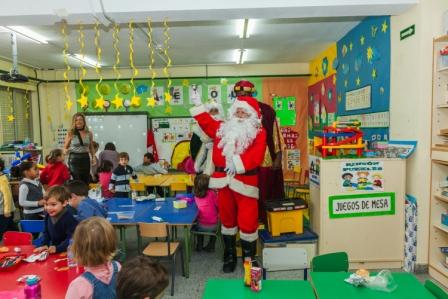 Los RRMM y Papá Noel en INF 4A 17
