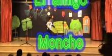 """Obra de teatro """"EL AMIGO MONCHO"""" CEIP Juan Gris de Madrid"""
