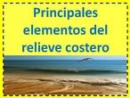 Presentación el relieve costero: principales elementos