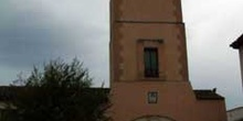 Torre del reloj de la plaza mayor de Fuentidueña de Tajo, Comuni