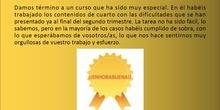 4º Despedida CEIP Isaac Peral_Curso 2019_20