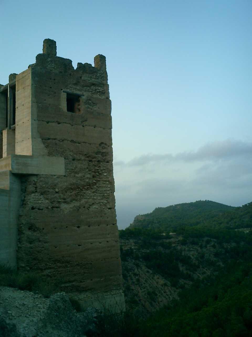Torre del castillo de Pliego (Murcia)