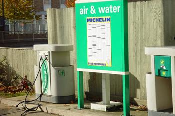 Máquina de agua y aire comprimido
