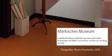 Material de enseñanza en Museo de la ciudad de Berlín (2020 HFC)