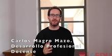 Entrevista con Carlos Magro