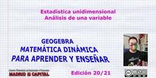 Estadística con Geogebra
