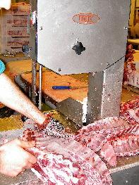 Costillar del cerdo