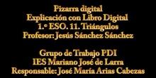Matemáticas: Libro Digital con Pizarra Digital. Circuncentro