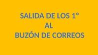 SALIDA AL BUZÓN DE CORREOS. CEIP PINOCHO 2017/18