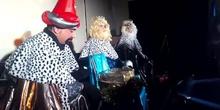 Los Reyes Magos en el CPEE Vicente Ferrer