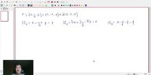 Recta y plano usando paramétricas