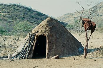 Choza nativa africana, Namibia