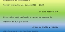 Despedida infantil música e inglés 19-20 - Infanta Leonor - Tras cuarentena
