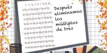 PRIMARIA 6º - CRIBA DE ERATÓSTHENES - MATEMÁTICAS - FORMACIÓN
