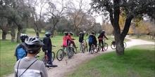 En bici por la Casa de Campo