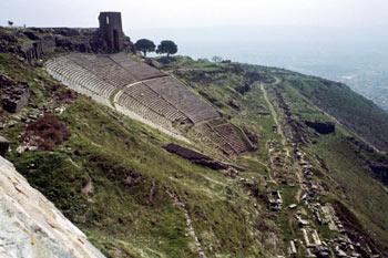 Teatro de la Acrópolis de Pérgamo, Turquía