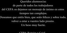 Video fin de curso CEPA Ramón y Cajal - 2020