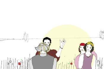 Cap. III. Don Quijote es armado caballero