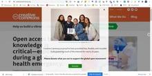 Establecer licencia Creative Commons en proyecto final CRIF FC