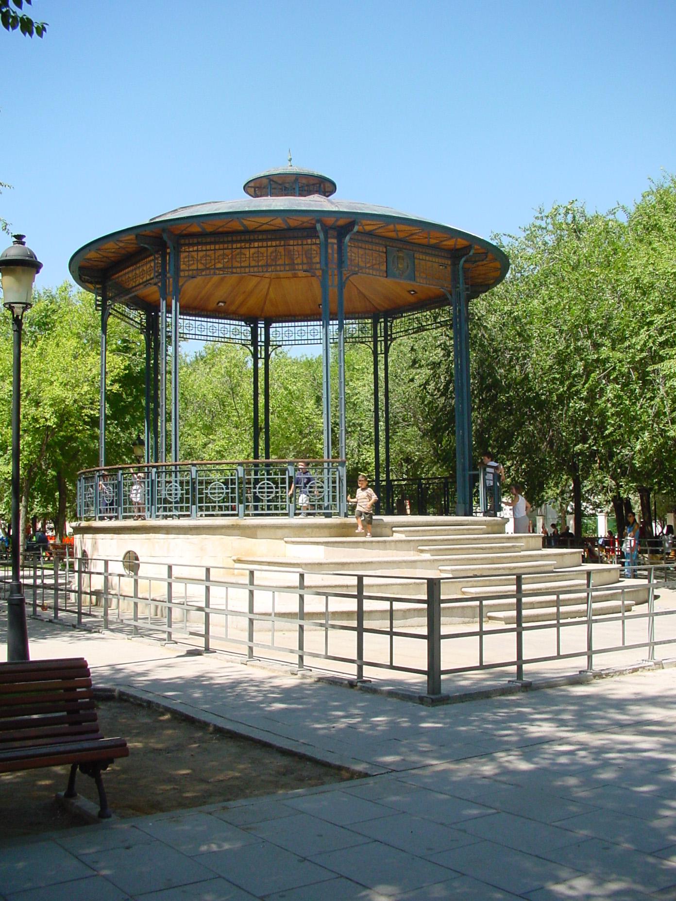 Parque en Pinto