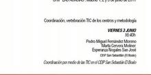 """Coordinación por medio de las TIC en el CEIP \""""San Sebastián\"""" de El Bóalo"""