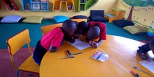 2019_10_10_Biblioteca de Kumwenya School_CEIP FDLR_Las Rozas 14