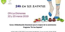 """Alfabetización emocional para la mejora de la convivencia. 24 horas """"Programa """"En sus Zapatos""""."""