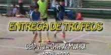 ENTREGA DE MEDALLAS DÍA DEL DEPORTE - CEIP Juan Gris de Madrid