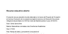 Estudio del bosque urbano de Madrid