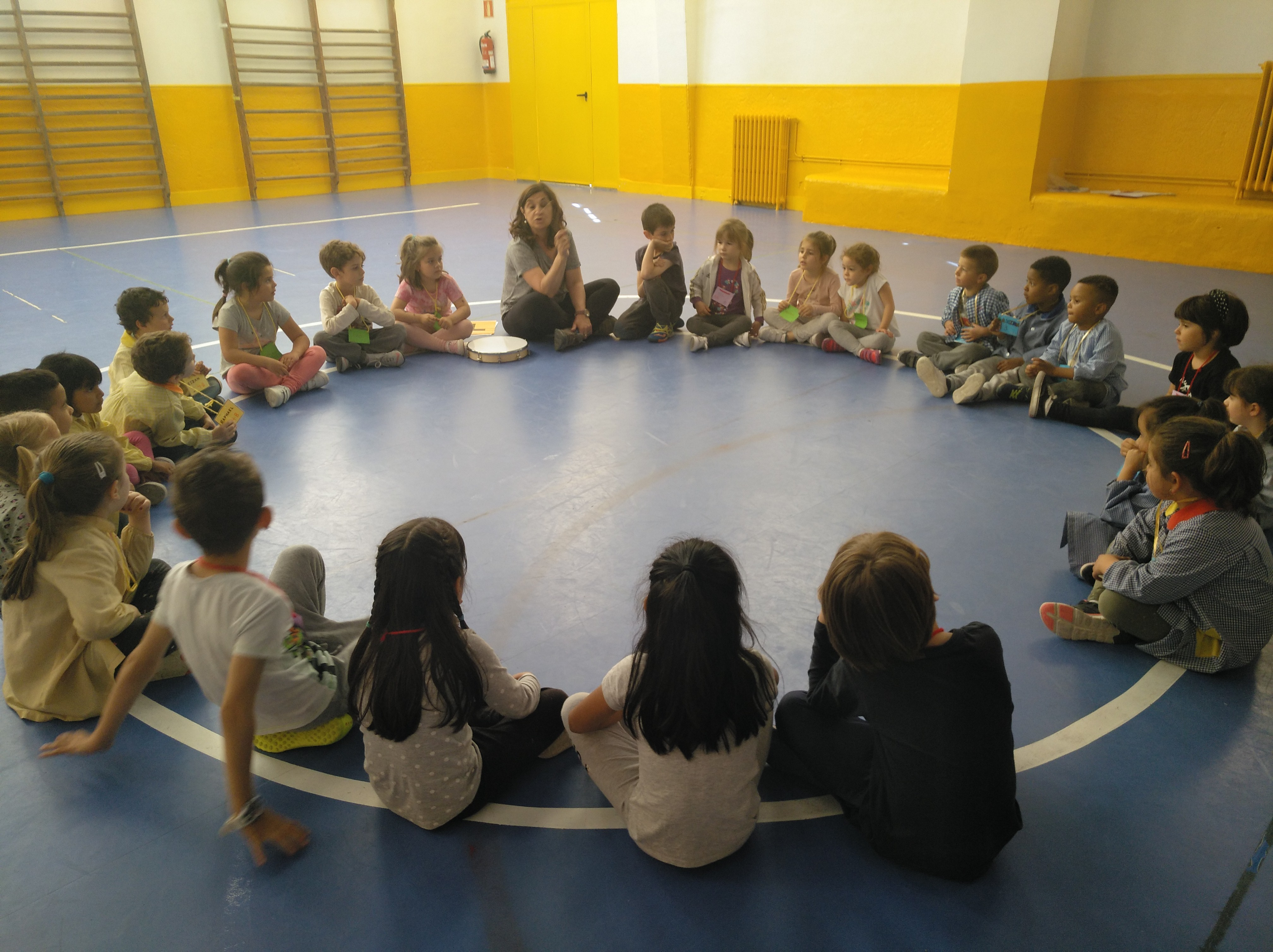 Jornadas Culturales. Musica y Movimiento. Infantil 1